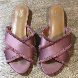 Blush Mossimo Supply Co. Sandals